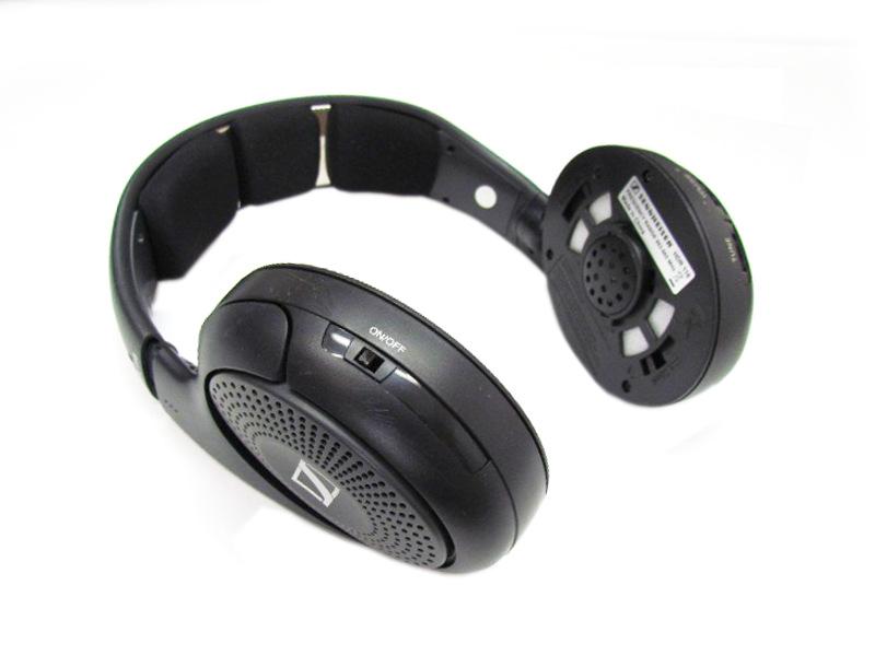 Sennheiser HDR 118 Kopfbügel Funkkopfhörer mit Ladestation ohne Ohrpolster